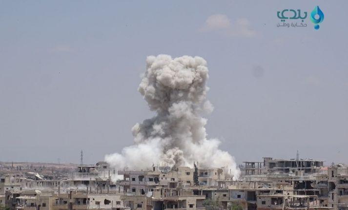 لليوم الثاني ضحايا بقصف على إدلب والنظام يكمل تسوية طفس