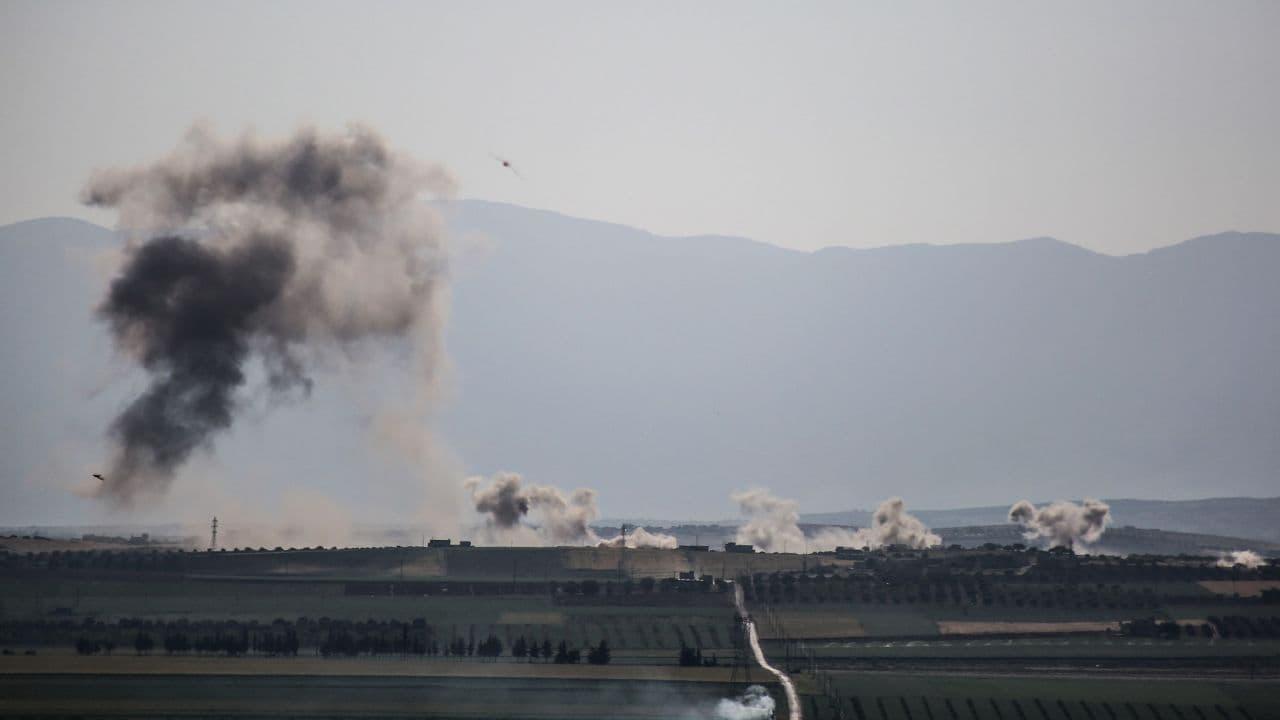 طائرات روسيا تقصف ريف إدلب